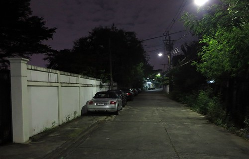 cars parked along our street over night