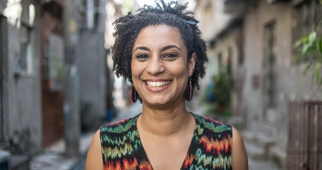 Marielle Franco was a defender of the human rights of black people and denounced the mass murderer of black youths in favelas (slums) - Créditos: Mídia Ninja