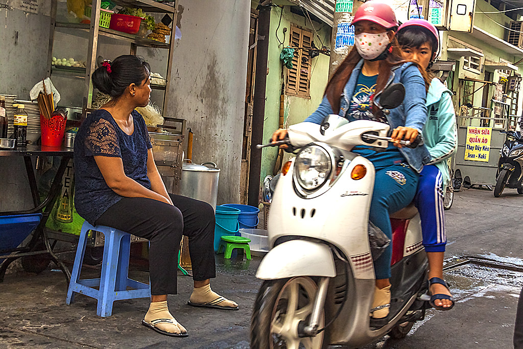Alley scene on 3-17-18--Saigon