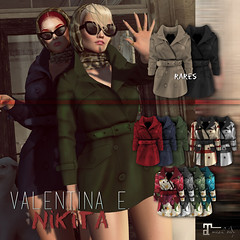 NEW! Valentina E. Nikita Short Trench For Pocket Gacha!