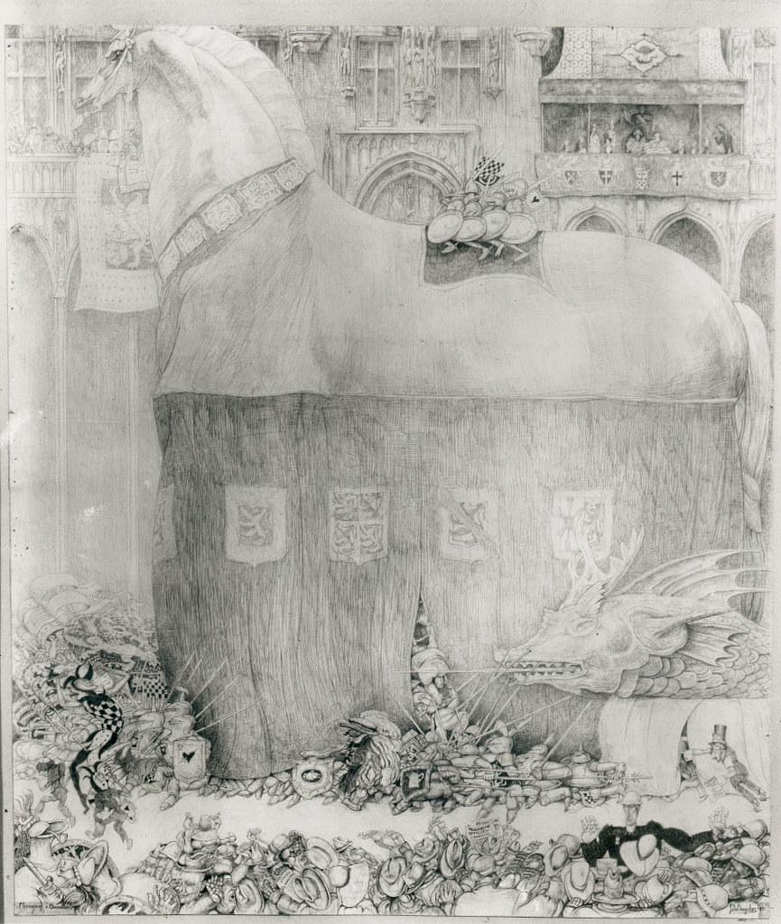 Jules De Bruycker - Horse Bayard,  1931