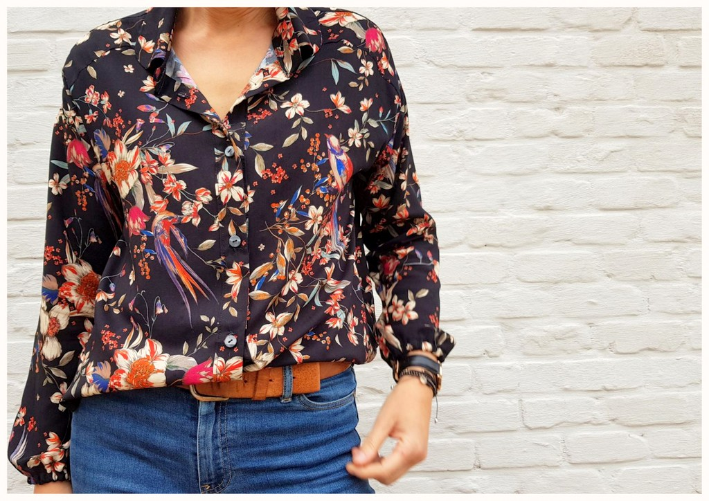 flower blouse 1