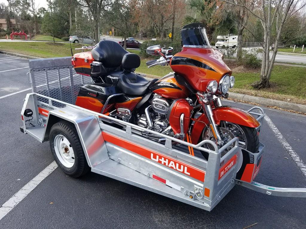 U-Haul trailer and SERGU
