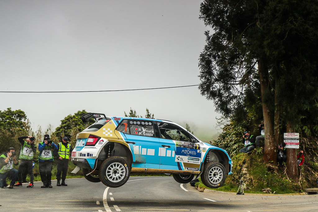 07 MOURA Ricardo (prt), COSTA Antonio (prt), FORD FIESTA R5, action during the 2018 European Rally Championship ERC Azores rally,  from March 22 to 24, at Ponta Delgada Portugal - Photo DPPI