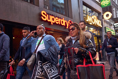 Shopping, Calling. Amsterdam, 2016