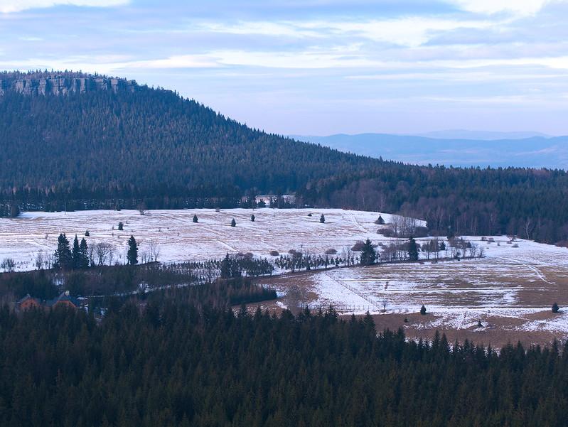 Góry Stołowe, Szczeliniec, Karłów