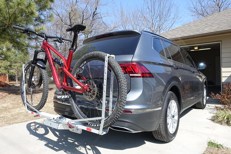 VW VOLKSWAGEN TIGUAN ALL MODELS 3 BICYCLE REAR MOUNT CARRIER RACK BIKE CYCLE