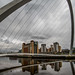 Newcastle by the banks of the river Tyne.
