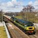 47805 and 47501 on 1Z56 Kingussie - Crewe at Stirling