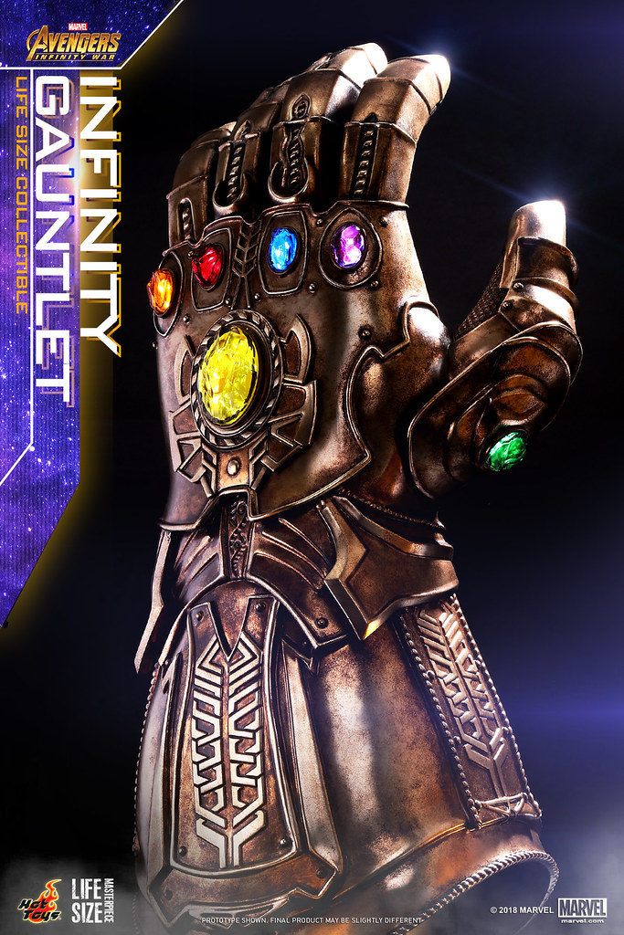 Hot Toys – LMS006- 《復仇者聯盟:無限之戰》1:1 無限手套 Avengers: Infinity War Infinity Gauntlet