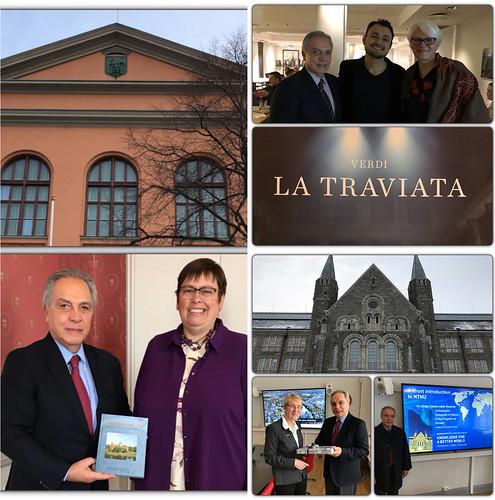 El Embajador de México en Noruega viaja a la ciudad de Trondheim para buscar oportunidades de cooperación en diversos sectores