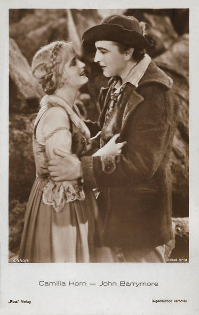 Camilla Horn and John Barrymore in Eternal Love (1929)
