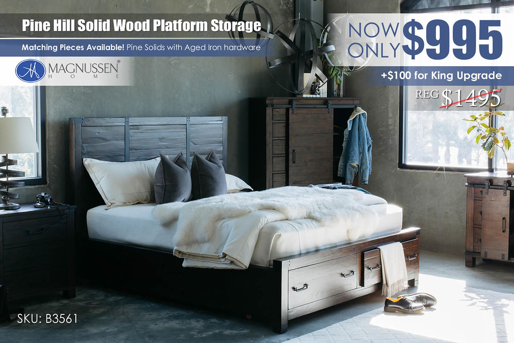 Pinehill Platform Storage Bed Update