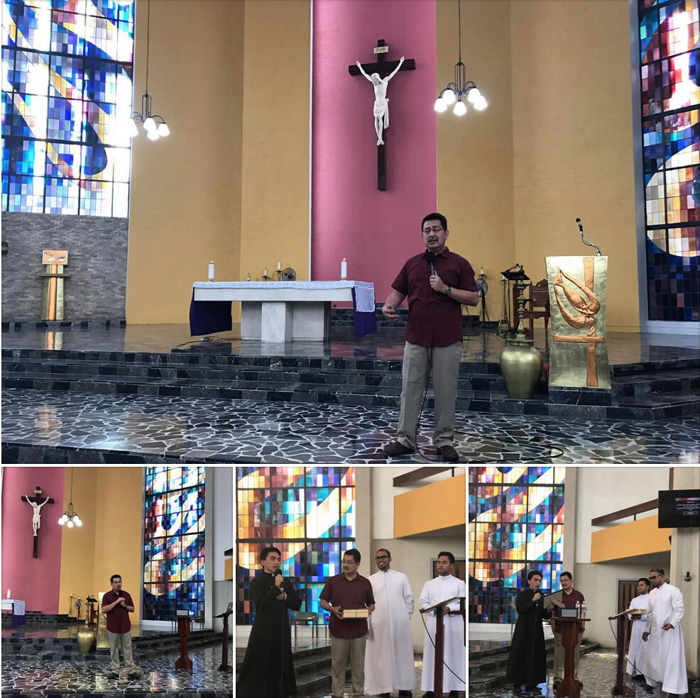 Lenten Recollection (Henri Nouwen as Wounded Healer) Feb. 28, 2018 (Holy Spirit Chapel) Society of the Divine Word, Tagaytay City, Philippines