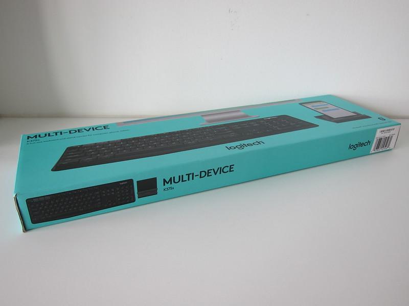 Logitech K375s Multi-Device Wireless Keyboard - Box