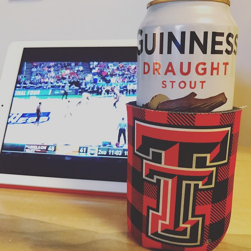 #stpatricksday #MarchMadness #WreckEm #texastechbasketball #guinness