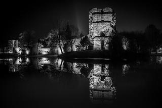 Die Burgruine Hayn in Dreieichenhain