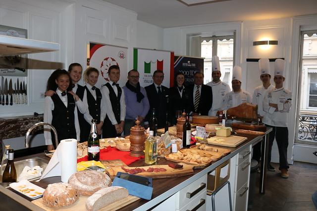 20180319 – L'Italia in Cucina – The Extraordinary Italian Taste – Masterclass a Lione