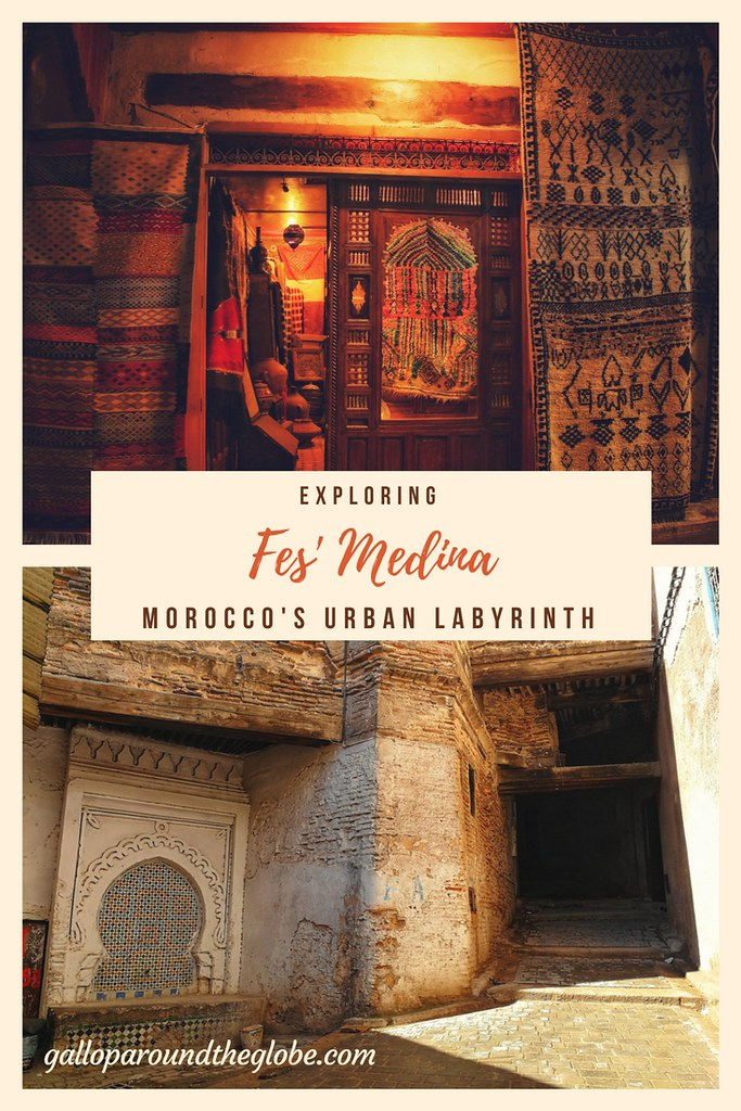 Exploring Fes' Medina: Morocco's Urban Labyrinth | Gallop Around The Globe