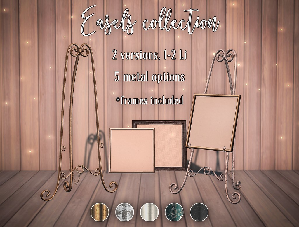 Easels collection - limited 50L promo - TeleportHub.com Live!
