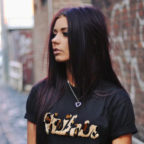 38+ Black Cherry Color Hair Ideas for 2018 + 2019 - Fashion 2D