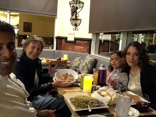 Dinner for Esther's Birthday