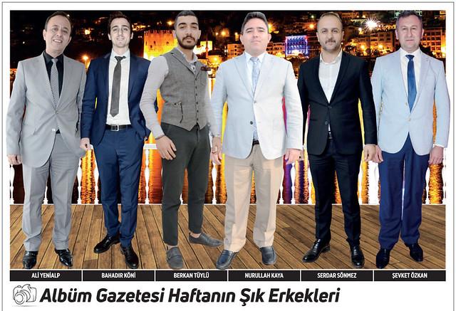 Ali Yenialp, Bahadır Köni, Berkan Tüylü, Nurullah Kaya, Serdar Sönmez, Şevket Özkan