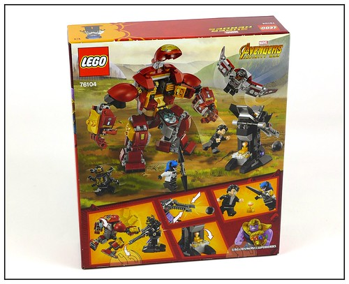 LEGO 2018 Marvel Super Heroes Avengers Infinity War box 08