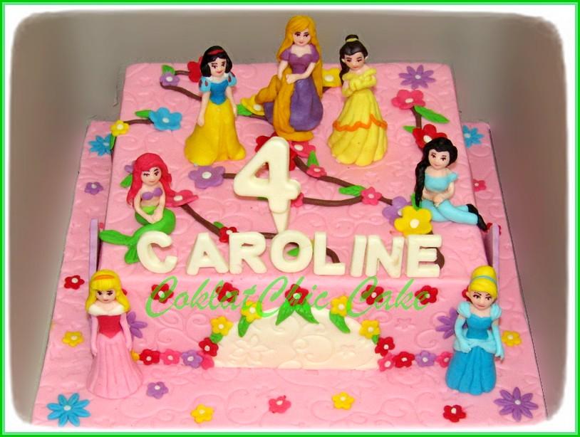 Cake disney Princes CAROLINE 24 cm