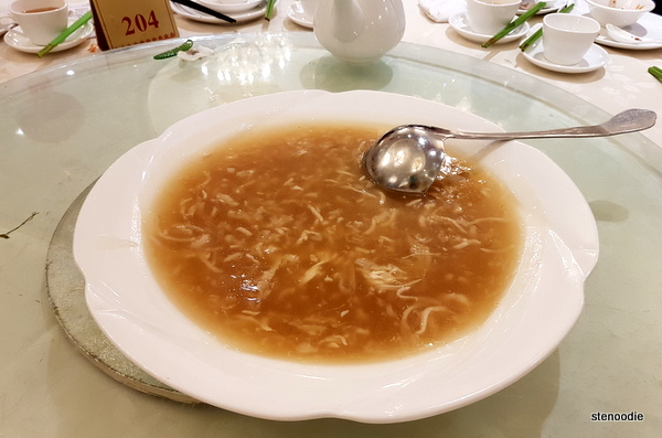 Fish Maw and Chicken Shark Fin Soup