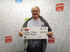 Hugh Massie - $30,000 - Mega Millions - Eagle - Winco