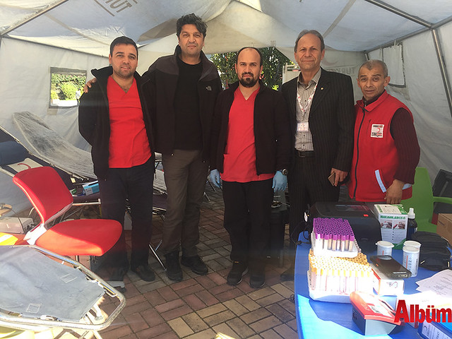 Bahçeşehir Koleji Alanya kan bağışı etkinliği