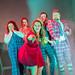(L-R) Sally Reid, Natalie Arle-Toyne, Jessica Hardwick, Robert Jack, Harry Ward. Photography by Mihaela Bodlovic.