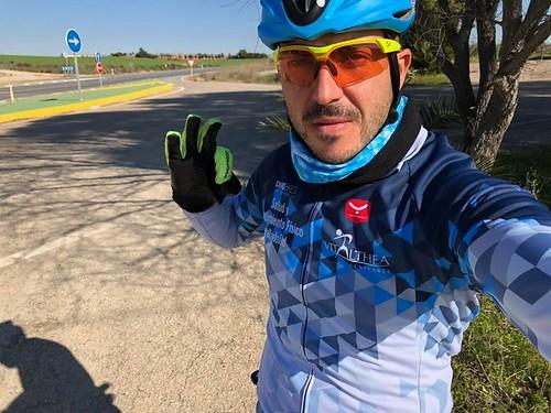 Adolfo Bellido al mundial de ciclismo adaptado