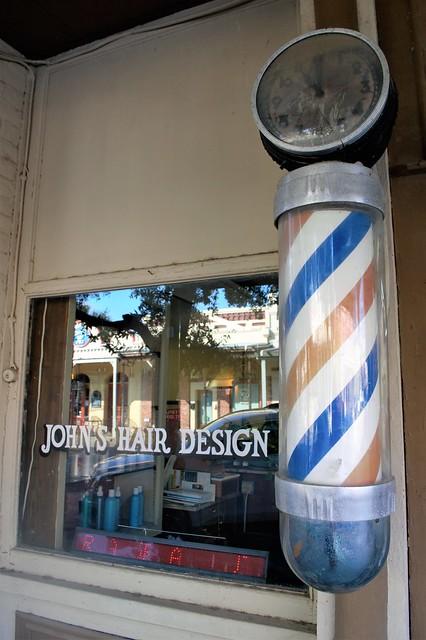 Barbershop in Bastrop, Texas