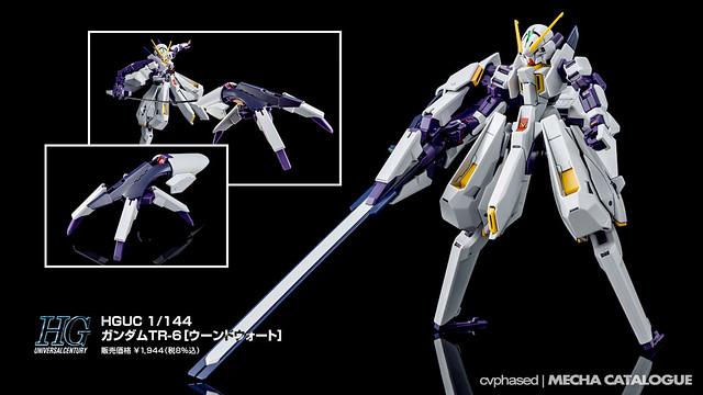 Bandai Hobby Online Shop Exclusive - HGUC Gundam TR-6 [Wound Wort]