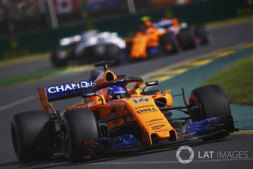 Alonso MCL33 Aus 2018