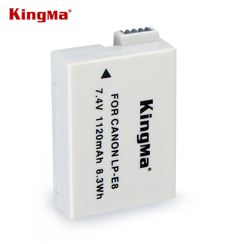 Pin sạc KingMa LP-E8 cho máy ảnh Canon EOS 550D 600D 650D 700D_Full box