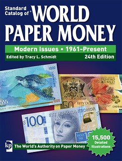 World Paper MOney MOdern Issue 24th ed book cover