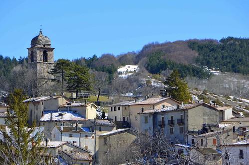 Un piccolo borgo in Abruzzo