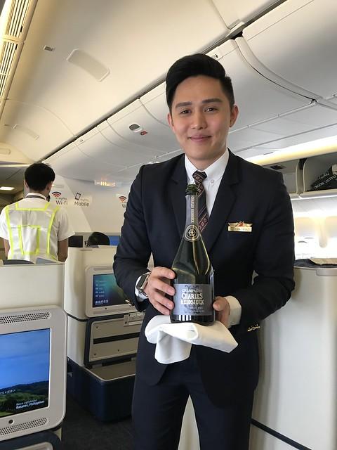 PAL flight attendant Ralph Manaloto