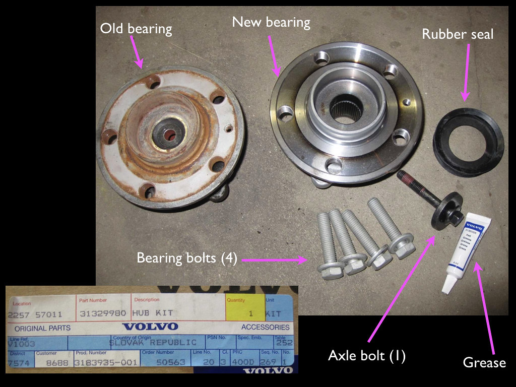 How To: Replace Front Wheel Bearing (Hub) And The Front Left