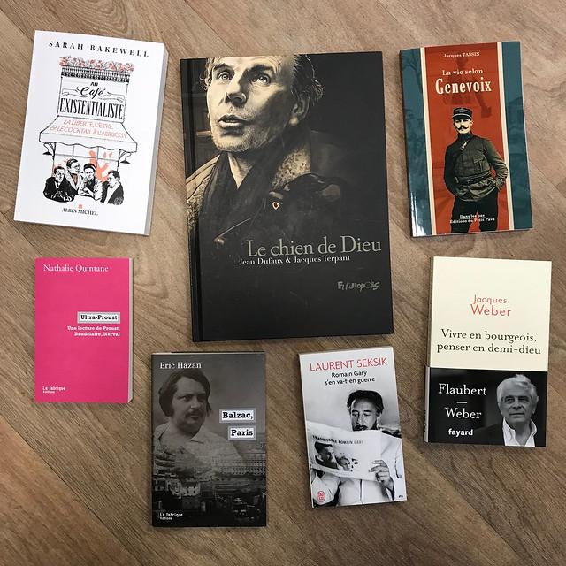 biographies et essais sur des auteurs