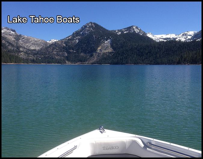 Lake Tahoe Boats