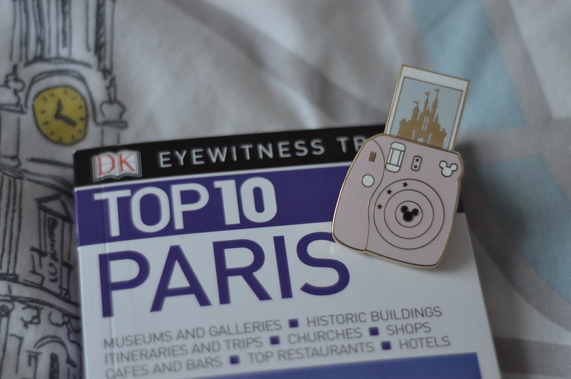 This is a picture of a eyewitness paris guide book