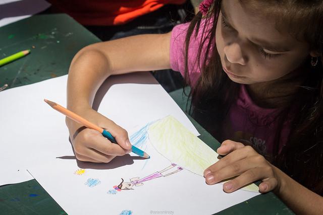 Concurso de pintura niños con disCapacidad