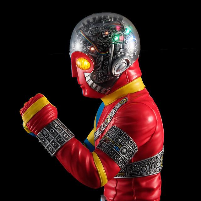 石之森章太郎生誕80周年、KIKAIDER 45週年紀念!Ultimate Article 人造人間 KIKAIDER 人造人間キカイダー