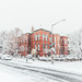 Snowy day in Capitol Hill