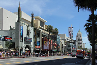The Chinese Theater at the Walk of Fame