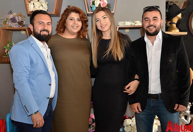 Feyzullah Akbaş, Büşra Akbaş, Filiz Arslan, Özgür Arslan